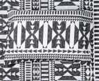 Belmondo Barundi Queen Bed Quilt Cover Set - Black/White 6