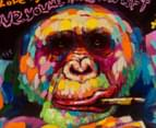 Cool Monkey 70x70cm Oil Painting On Canvas 4