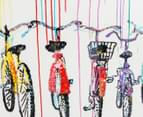 Bicycles 100x50cm Oil Painting On Canvas 5