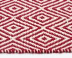 Diamond 320x230cm Reversible Rug - Red 4