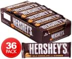 36 x Hershey's Milk Chocolate & Almond Bars 41g 1