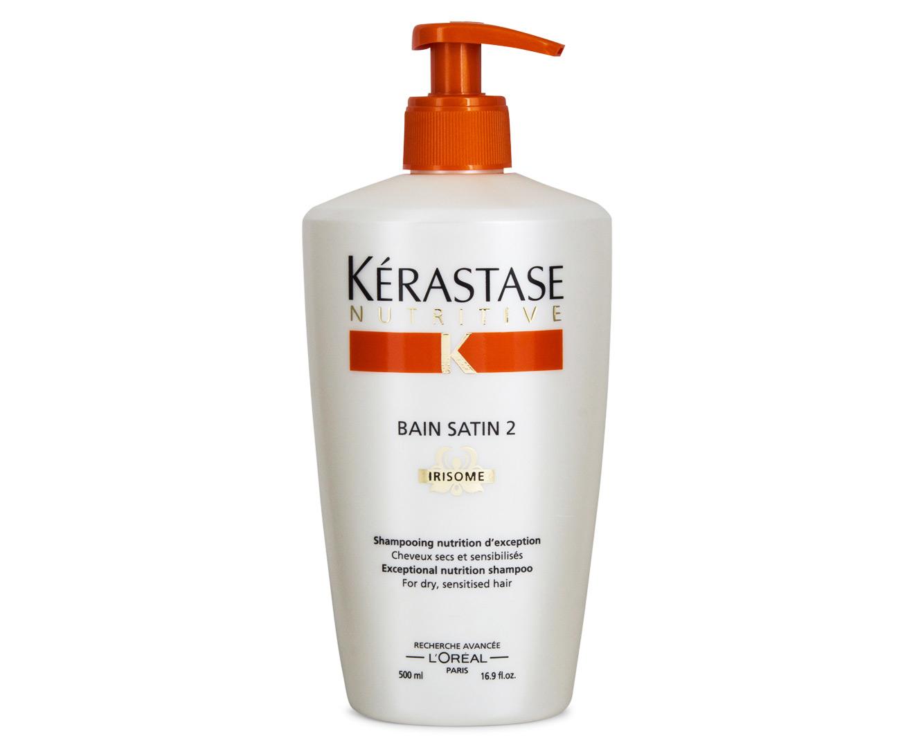 Scoopon shopping k rastase bain satin 2 shampoo 500ml for Kerastase bain miroir shine