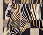 Contemporary Zebra 80x60cm Oil Painting Canvas Wall Art 4