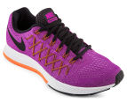 Nike Women's Air Zoom Pegasus 32 Shoe - Vivid Purple/Fuchsia Glow/Hyper Orange 2
