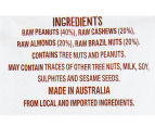 12 x Go Natural Snack Packs Raw Nuts 45g 3