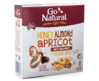 2 x Go Natural Snack Bars Honey Almond & Apricot Ripple 175g 5pk  3