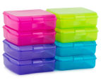 Sistema 510mL Klipo Square Coloured Container 8-Pack - Multi 2
