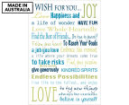 I Wish For You 59x40cm Canvas Wall Art 1
