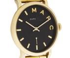 Marc by Marc Jacobs Women's 36mm Baker Watch - Gold/Black 2