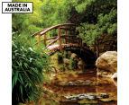 Arched Bridge 75x75cm Canvas Wall Art 1