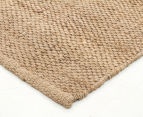 Natural Fibre 220x150cm Basketweave Rug 2