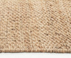 Natural Fibre 220x150cm Basketweave Rug 3