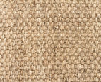 Natural Fibre 220x150cm Basketweave Rug 4