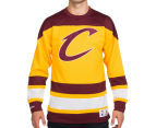 Mitchell & Ness Men's NBA Mesh Long Sleeve Top - Cavaliers 1