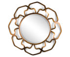 Soleil Wall Mirror - Antique Gold 1
