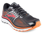 Brooks Men's Glycerin 13 Shoe - Black/High Risk Red/Silver 2