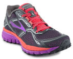 Brooks Women's Ghost 8 Shoe - Anthracite/Purple Cactus Flower 2