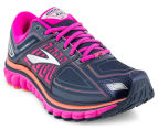 Brooks Women's Glycerin 13 Shoe - Peacoat/Pink Glow/Coral 2