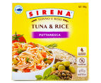 3 x Sirena Tuna & Rice Puttanesca 190g 2