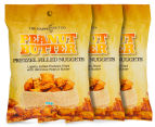 3 x The Happy Nut Co. Peanut Butter Pretzel Filled Nuggets 90g 1