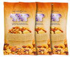 3 x The Happy Nut Co. Mixed Nuts 150g 1