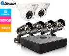 Swann DVR8-1525 8-Channel 960H Digital Video Recorder, 4 x PRO-15 Cameras & 2 x PRO-736 Dome Cameras 1