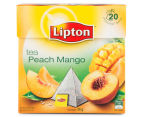 4 x Lipton Peach Mango Black Tea Bags 20pk 2