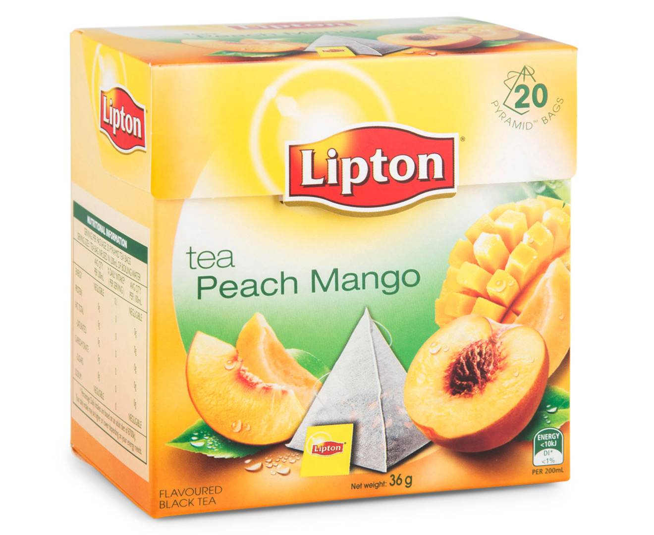 Peach and mango tea