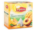 4 x Lipton Peach Mango Black Tea Bags 20pk 3