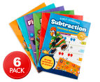 Early Learning Educational Workbooks 6-Pack 2