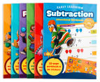 Early Learning Educational Workbooks 6-Pack 3