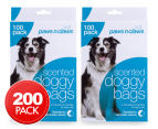 2 x Paws N Claws Scented Doggy Bags 100pk 1
