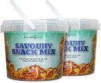 2 x The Happy Nut Co. Savoury Snack Mix 500g 1