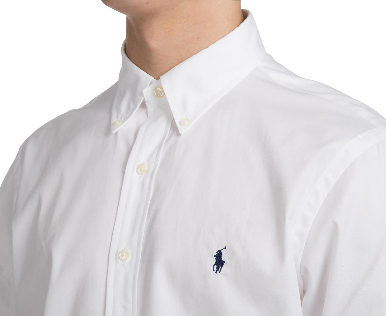 Scoopon Shopping Polo Ralph Lauren Men 39 S Dress Shirt White