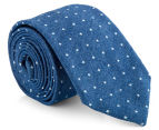 Ben Sherman Men's Plain Tie - Denim 1