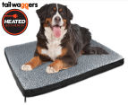 Heated Pet Bed by Tail Waggers - 83x109cm For Large Dogs 1