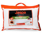 Jaspa Black Wool Rich Pillow - White 6