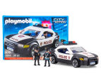 Playmobil Police Car w/ Flashing Lights Building Set 1