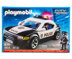 Playmobil Police Car w/ Flashing Lights Building Set 2