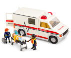 Playmobil Rescue Ambulance w Light & Sound Building Set 3