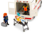 Playmobil Rescue Ambulance w Light & Sound Building Set 5