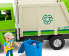 Playmobil Green Recycling Truck Building Set 6