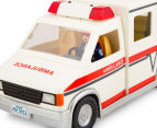 Playmobil Rescue Ambulance w Light & Sound Building Set 6
