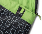 Caribee Moonshine Twin Set Sleeping Bag - Charcoal/Spring Green 4
