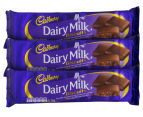 3 x Cadbury Dairy Milk Biscuits 110g 1