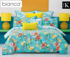 Bianca Macey Super King Bed Quilt Cover Set - Multi 1
