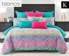 Bianca Tisha King Bed Quilt Cover Set - Multi 1