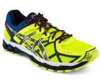 ASICS Men's GEL-Kayano 21 Lite-Show Shoe - Flash Yellow/Silver/Blue 2
