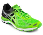 ASICS Men's GT-2000 3 Shoe - Flash Green/Black/White 2