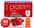 2 x Protrim Plus 30g Mini Bars Choc Raspberry Ripple 5pk 1